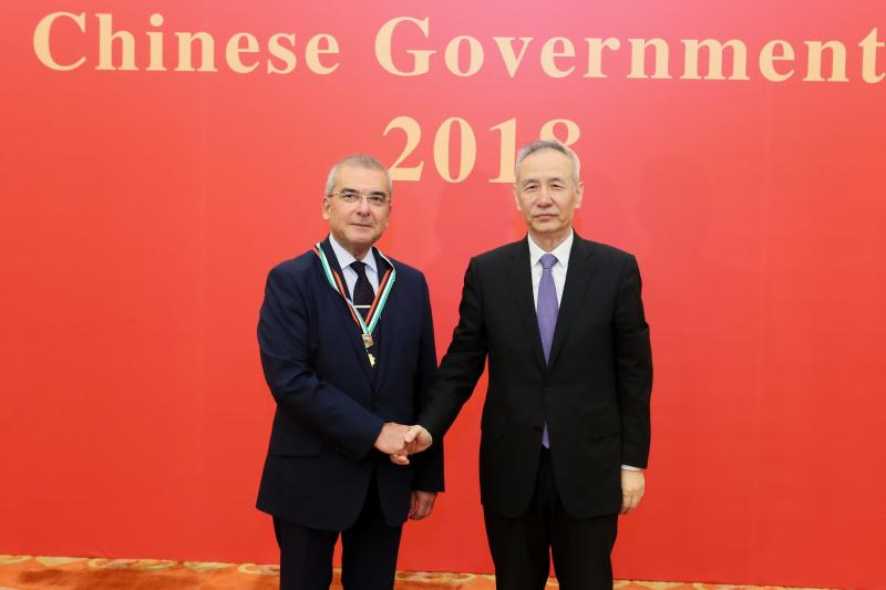 Schiess GmbH / SYMG: Große Ehre für Dr. Ganiyusufoglu in China