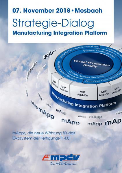 Strategie-Dialog zur Manufacturing Integration Platform