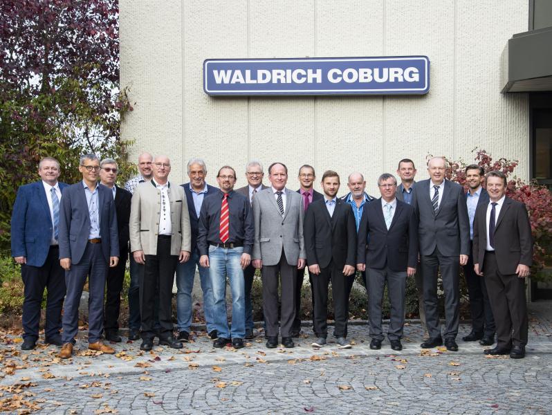 WALDRICH COBURG ehrt Jubilare