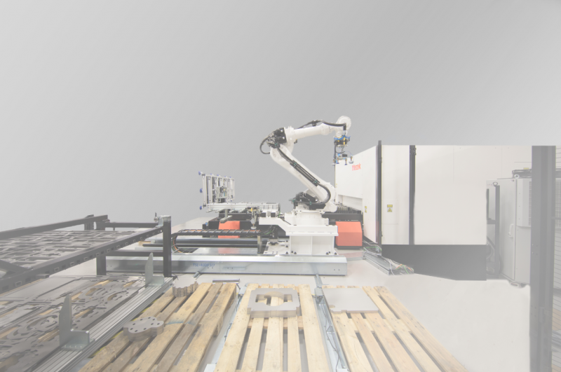 Mazak's SMART MANUFACTURING CELL automation system has been specifically developed to complement its portfolio of laser machines. It will be fitted to an 8kW OPTIPLEX Fiber III laser processing machine at EuroBLECH 2018.