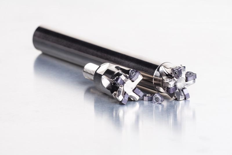 La gama SWN04C es apta para aplicaciones de acabado y semiacabado en aceros, aceros endurecidos y fundición.