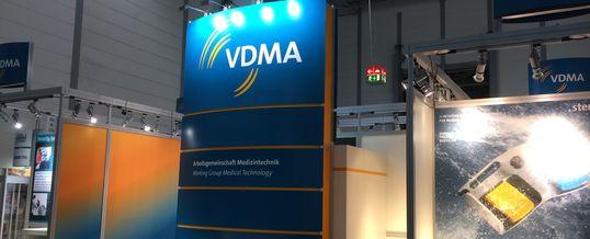 Compamed 2018 –  VDMA und neun Mitgliedsfirmen präsentieren Medizintechniklösungen