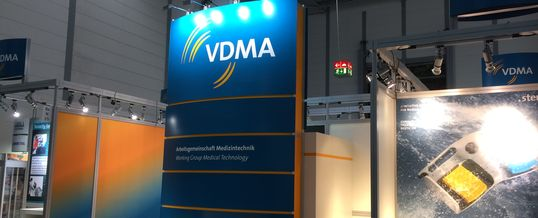 Compamed 2018 –  VDMA and nine member companies present medical technology solutions