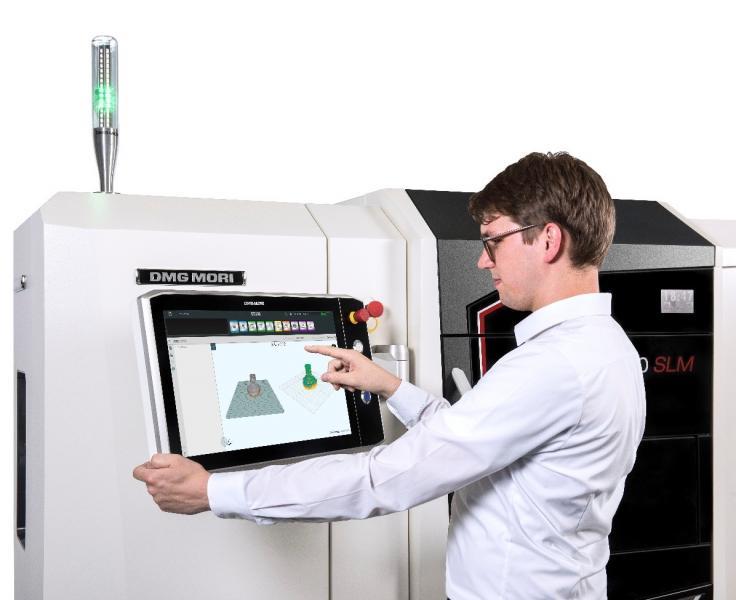 Der RDesigner von DMG MORI ermöglicht komfortables CAM Programmieren direkt an der Maschine.