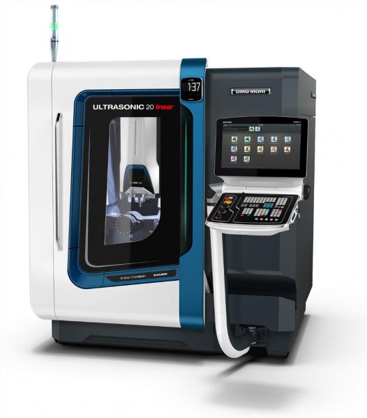 Zu den wichtigsten technologischen Neuerungen der ULTRASONIC 20 linear  gehören ein neuer, vollständig digital gesteuerter Ultraschallgenerator und  die ULTRASONIC-Aktoren mit höherer Leistung.