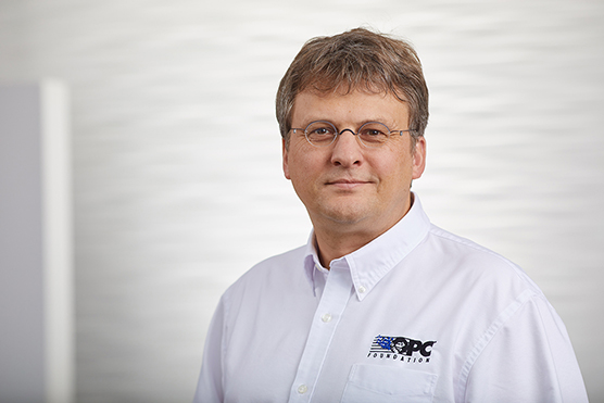 Stefan Hoppe is new president and CEO of the OPC Foundation.
