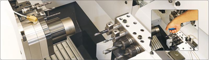 Ya está disponible el nuevo portaherramientas hidráulico BIG KAISER para tornos automáticos de tipo suizo.