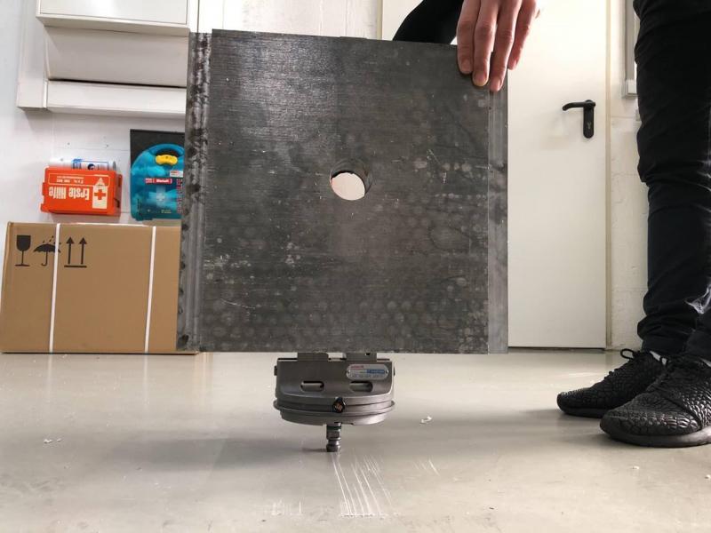 Eine kompakte Spannlösung, die kleiner ist als das Werkstück!