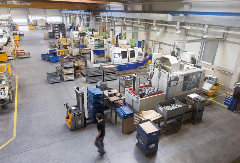 Rund 50 Maschinen sind per MDE in das MES bei PENN angebunden