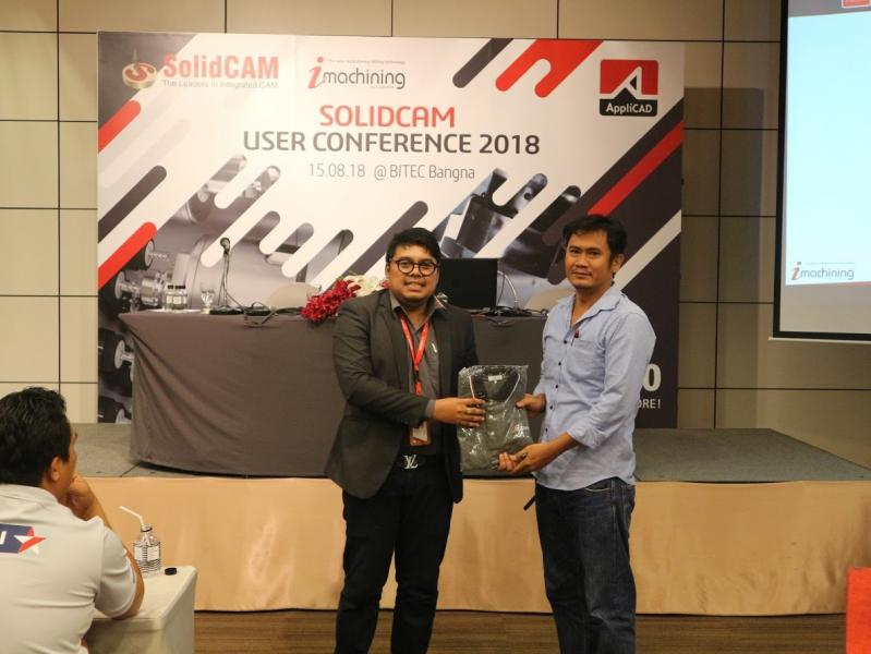 SolidCAM Thailand held a User Conference on August 8th. 2018.