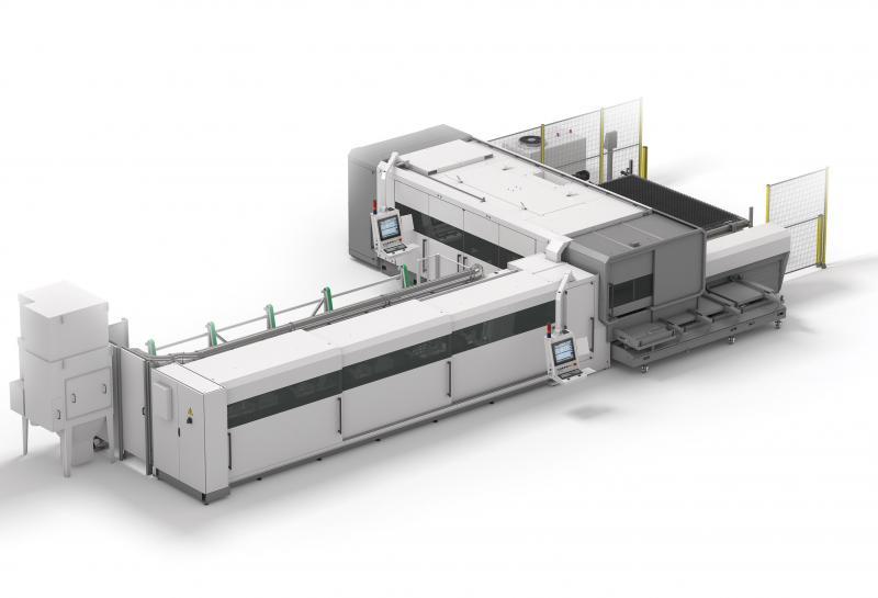 Mit der LS5 unterstreicht die BLM GROUP ihre Praxiserfahrung, über die sie als marktführendes Unternehmen der Rohrbearbeitungsbranche auch bei Maschinen für das Laserschneiden von Blechen verfügt. Hochwertige Funktionen, Leistungsstärke und die dank des modularen Aufbaus flexible Konfigurierbarkeit sind wichtige Merkmale der Maschine. Ein Beispiel ist die automatische Rohrbearbeitungslinie, mit der sich die LS5 zu einer LC5 erweitern lässt – zu einem leistungsstarken Kombisystem, das mit seinem Laser sowohl Bleche als auch Rohre schneidet. Die Modularität, das kompakte Layout, die einfache Anwendbarkeit, der hohe Automatisierungsgrad und die innovative Technik ergeben in Summe ein einzigartiges Laserschneidesystem, das weltweit Nachahmer findet.