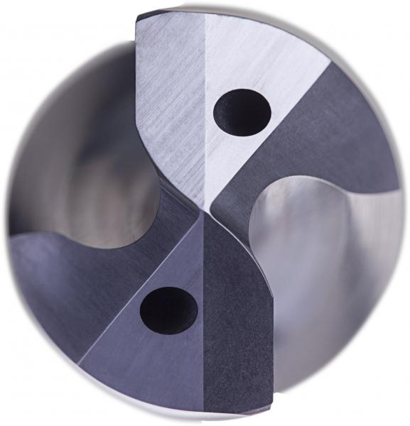 R467 Force M Seitenwinkel und Frontwinkel: Die Force M Bohrer sind für Edelstahlanwendungen geeignet.
