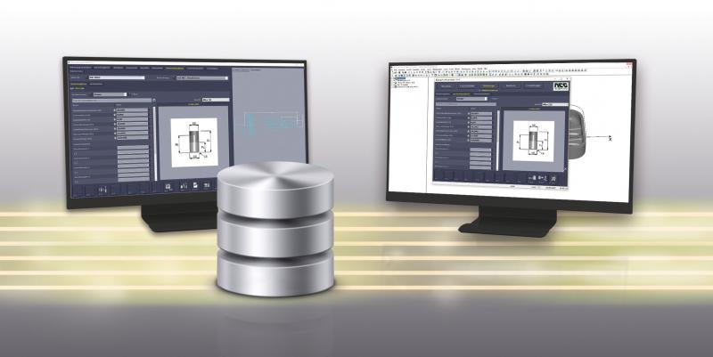 Die Werkzeugdaten (Sachmerkmale) aus der ZOLLER-Datenbank werden dem CAM System zur Verfügung gestellt  Die Werkzeugliste (Einrichteblatt) wird vom CAM-System in die ZOLLER-Datenbank übertragen  Somit wird sichergestellt, dass ausschließlich korrekte Werkzeuge im Fertigungsprozess zum Einsatz kommen.