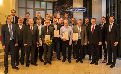 The 2017 jubilees of WALDRICH COBURG
