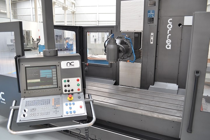 Nicolás Correa Service, S.A. fully inspected this bed type CORREA PRISMA 25 milling machine, before finally performing the commissioning work at its customer's facilities in Slovakia.