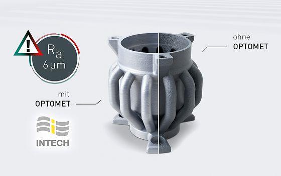 OPTOMET berechnet automatisch die optimalen Prozessparameter, erleichtert die Programmierung und führt zu deutlich verbesserten Oberflächenqualitäten und reproduzierbaren Werkstoffeigenschaften.