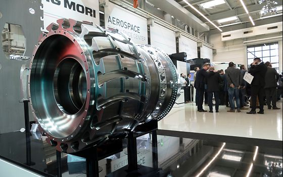 Das DMG MORI Aerospace Excellence Center entwickelt optimale Fertigungslösungen für Applikationen in der Luft- und Raumfahrttechnik.
