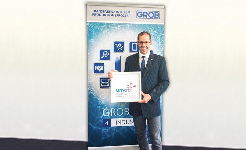 GROB unterstützt VDW-Initiative Industrie 4.0