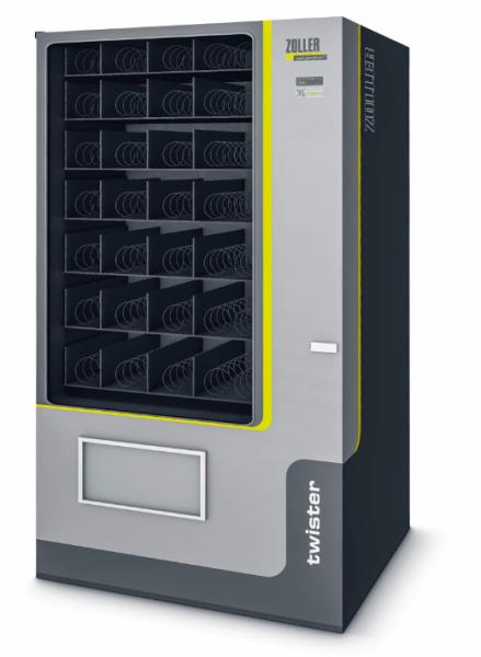 ZOLLER-Werkzeugautomat »twister« für Kleinkomponenten wie Wendeschneidplatten