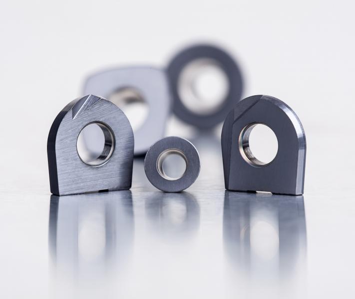Die neuen Sorten wurden für das Hochgeschwindigkeitsfräsen im Werkzeug- und Formenbau entwickelt.
