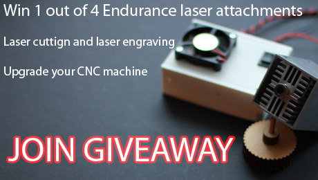 Win 10 watt, 5.6 watt, 2.1 watt and 500 mWatt laser! Endurance lasers are: Compatible with most 3D printers and CNC machines • Rated for real, continuous power output • Easy to use and install • Tested for 48-72 hour nonstop operation