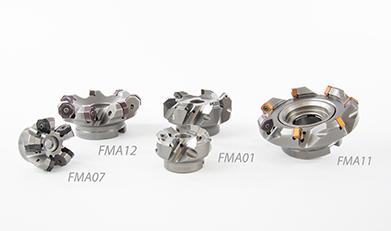 Beim Planfräsen bietet ZCC Cutting Tools Europe besonders viele Spanbrecher- und Sortenkombinationen - FMA01, FMA11 und FMA07/FMA12