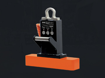 The Neo EP lifting magnet is the ideal solution for frequent turning of workpieces. The magnet turns on and off with a simple electric impulse, and the load is held during transfer by strong permanent magnets, which in turn saves energy.