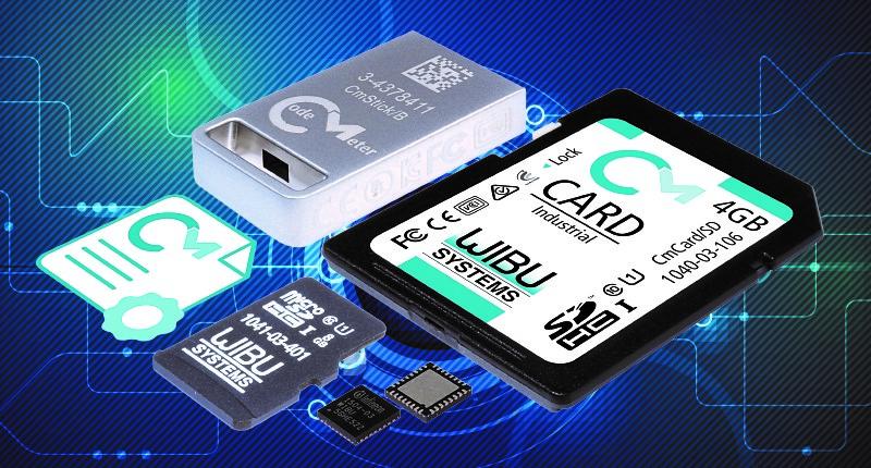 Die hardwarebasierten und softwarebasierten Secure Elements von Wibu-Systems bieten auf der Embedded World 2019 Sicherheitsfunktionen und Monetarisierungsmöglichkeiten.