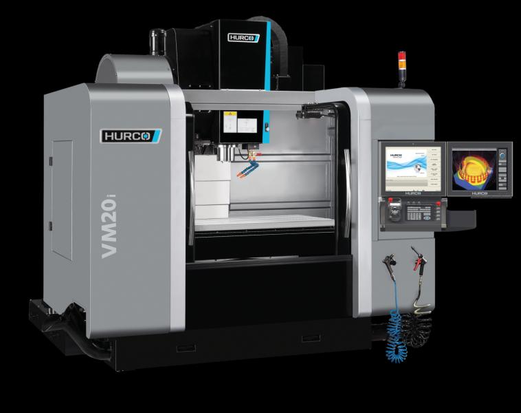 Jede HURCO-Maschine ist mit einer Software ausgestattet, die eine 5-Achs-Bearbeitung zulässt. Die Hardwarenachrüstung benötigt nicht mehr als einen Tag, hinzu kommt ein Tag für die Schulung der Mitarbeiter. Die mit einer 3-Achs-Konfiguration gelieferte Maschine ist allerdings nicht mit den entsprechenden Führungen und Glasmaßstäben ausgestattet und arbeitet deshalb etwas gröber.