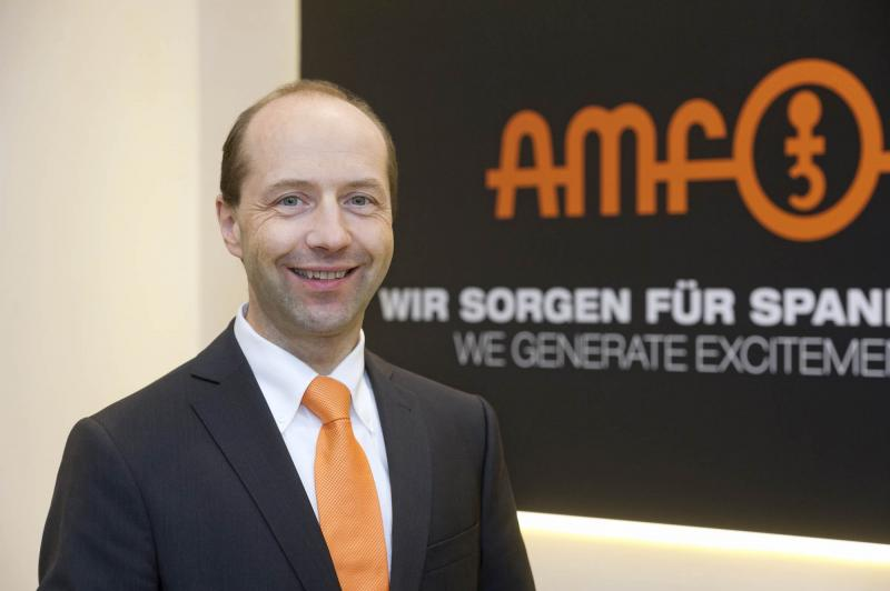 Johannes Maier, Managing Partner of AMF, enthuses about the new record figures for 2018 and the growth in revenue breaking the €50-million barrier.