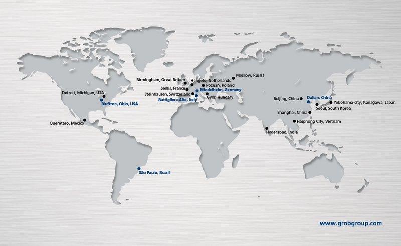 GROB erweitert sein weltweites Vertriebsnetz