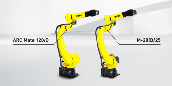 FANUC erweitert Roboterbaureihe um M-20iD und ARC Mate 120iD