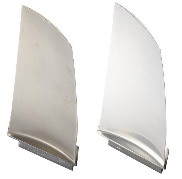 Engine blades for the aerospace industry