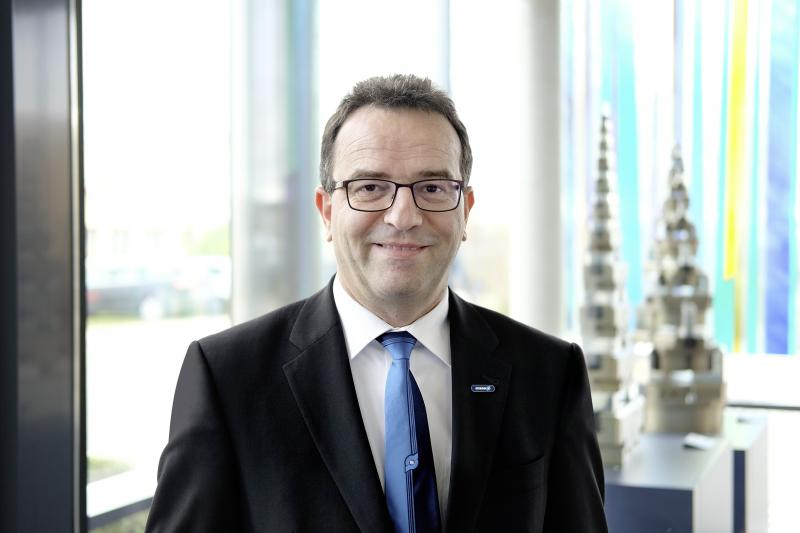 Dr. Prof. Ing. Markus Glück, director ejecutivo de Investigación y Desarrollo/director de innovación de SCHUNK GmbH & Co. KG, Lauffen/Neckar