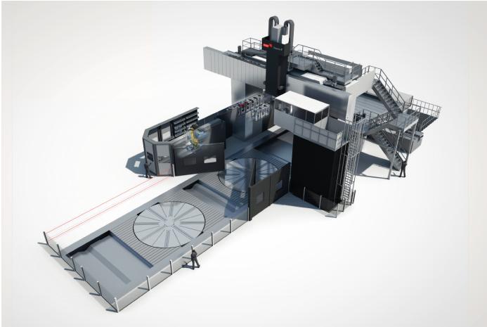 Investition in die XXL-Zukunft: Für sein neues Center for Advanced Large Manufacturing orderte Metalex aus Cincinnati (Ohio) ein 6-Achsen Portalbearbeitungs zentrum der Droop+Rein T Baureihe von Starrag.