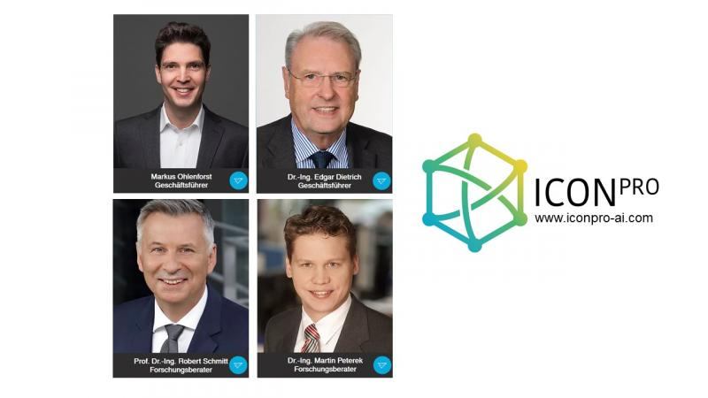 Führungsteam und Forschungsberater der IconPro GmbH