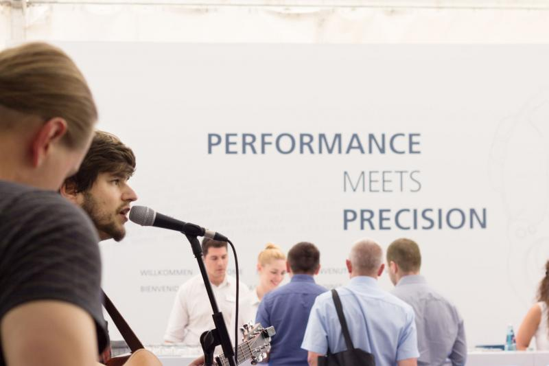 'Performance meets Precision' beim CHIRON OPEN HOUSE in Tuttlingen