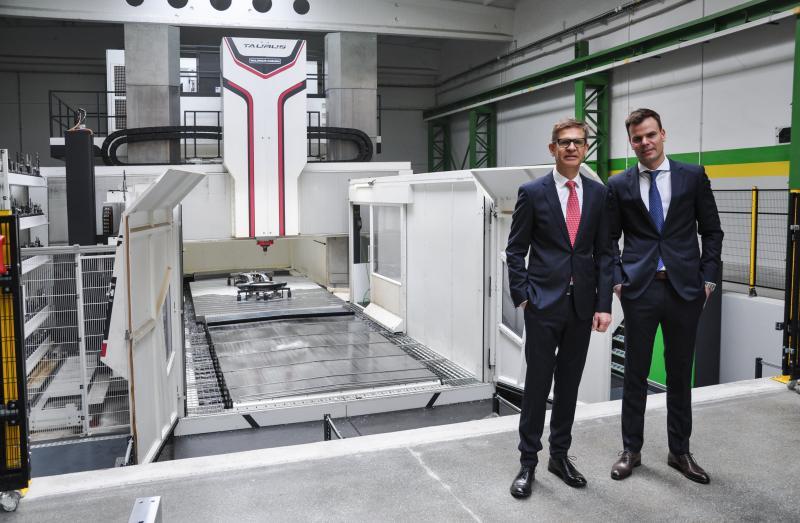 Thomasz & Krzysztof Kazimieruk with their TAURUS 30