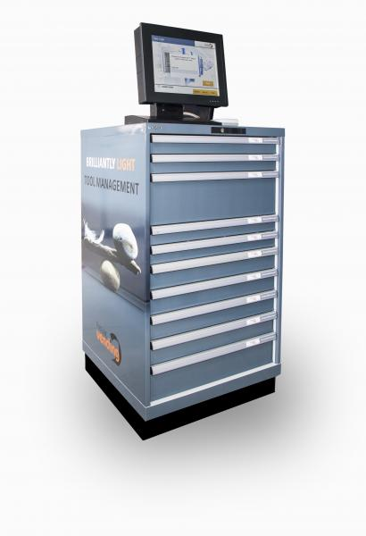Dormer Pramet's versatile SmartDrawer vending system.