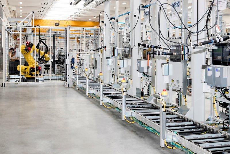 Produktionsstart der GROB-Linie von Peugeot in Polen