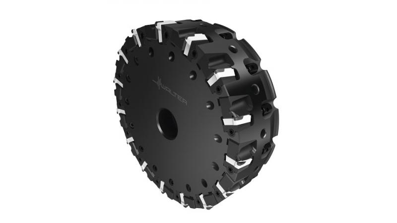 The M2127 PCD milling cutter