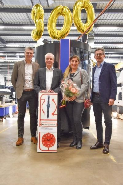 Delivery of the 300th MultiSwiss 6x16