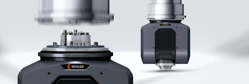 Die Wechselkopfschnittstelle Quick Axis Change (QAC) ermöglicht kompromissloses Schruppen oder Schlichten auf einer Maschine. Die Kopfkinematik bleibt dabei bestehen.