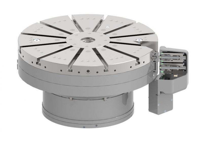 Automatic Balancing System (ABS) für schnelldrehende Fräs-Drehtische.