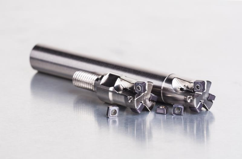 Hochproduktive SCN05C-Fräswerkzeuge für das Kopierfräsen im Werkzeug und Formenbau.
