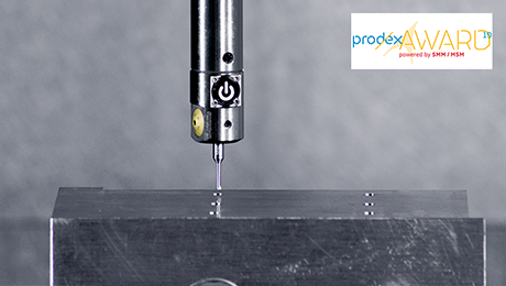 Nominated for the PRODEX Award 19: The EWE Downsize - the world's smallest digital fine boring head and flagship product for industry 4.0. BIG KAISER is a major player in the field of micromachining.