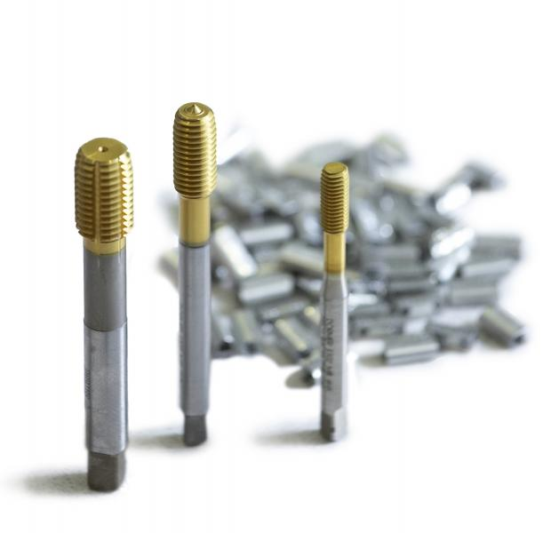 Forming taps produce a thread by deformation of the component material.