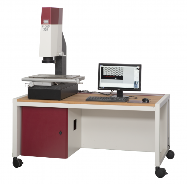 Die V-CAD Serie eignet sich auch für die Integration ein eine voll- oder teilautomatisierte Messanlage