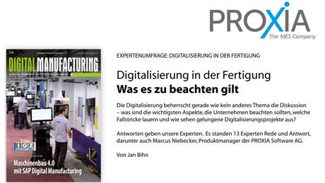 """Experteninterview """"Digitalisierung in der Fertigung"""" - Digital Manufacturing"""