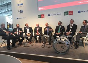 Präsentationen zum Forum Leichtbau auf der Hannover Messe 2019